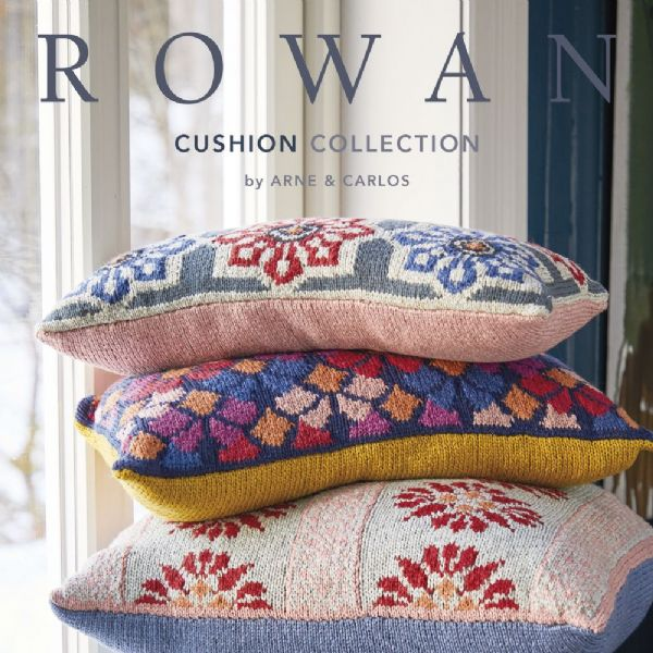 Rowan Cushion Collection by ARNE CARLOS Pattern Book